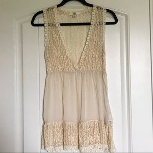 YA Los Angeles Boho Lace Top (NWOT)